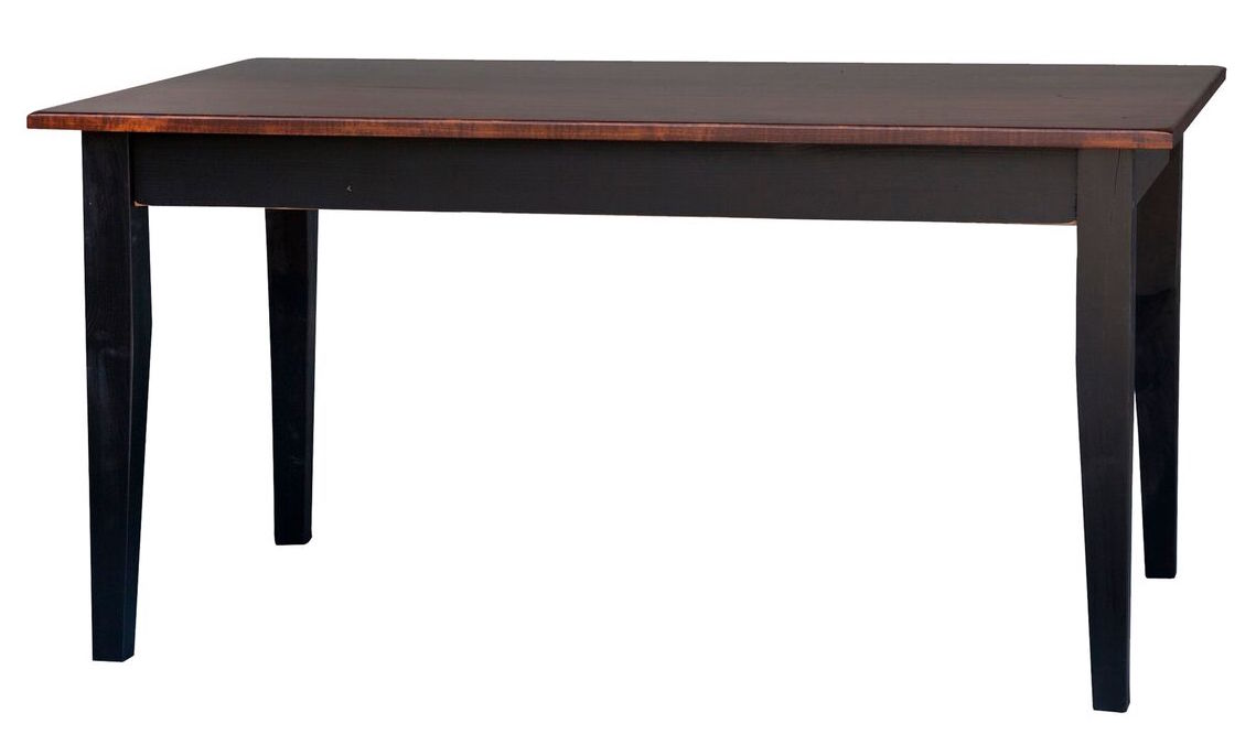 3 39 8 39 Solid Top Farm Table Stock Swap Furniture