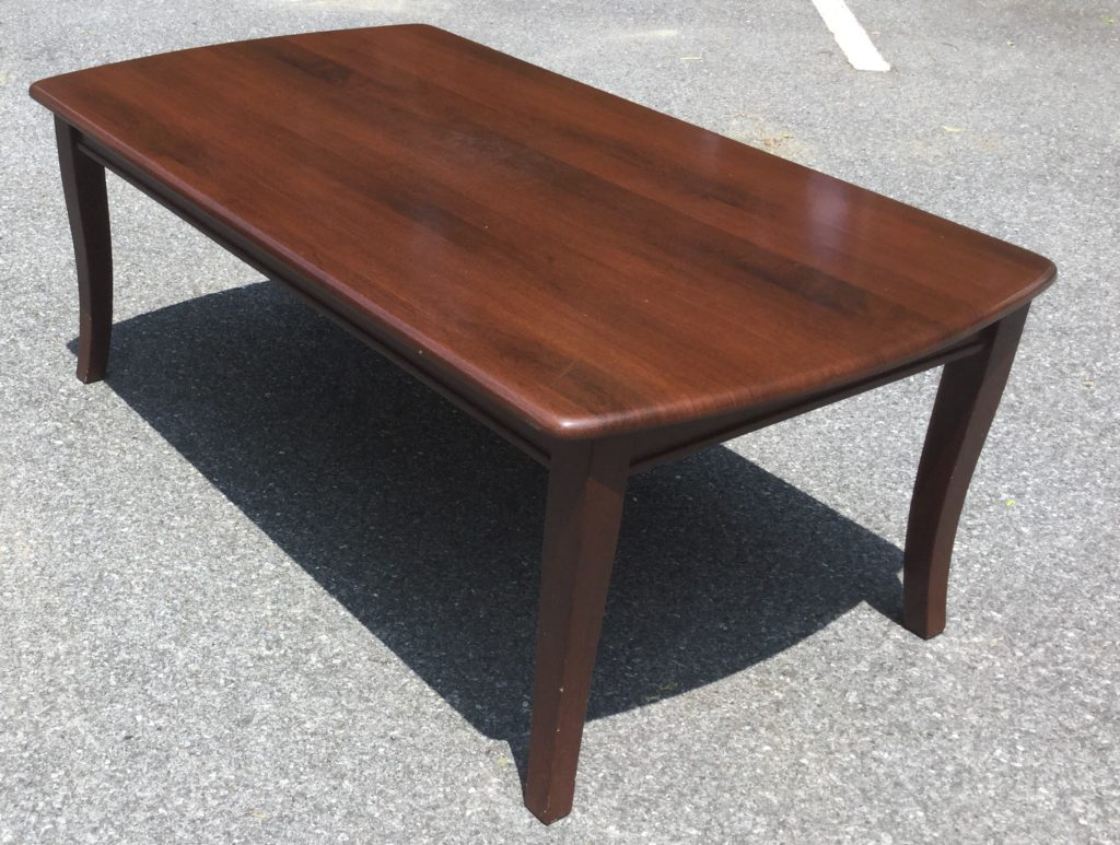 Cherry Coffee Table cherry coffee table - stock swap furniture consignment