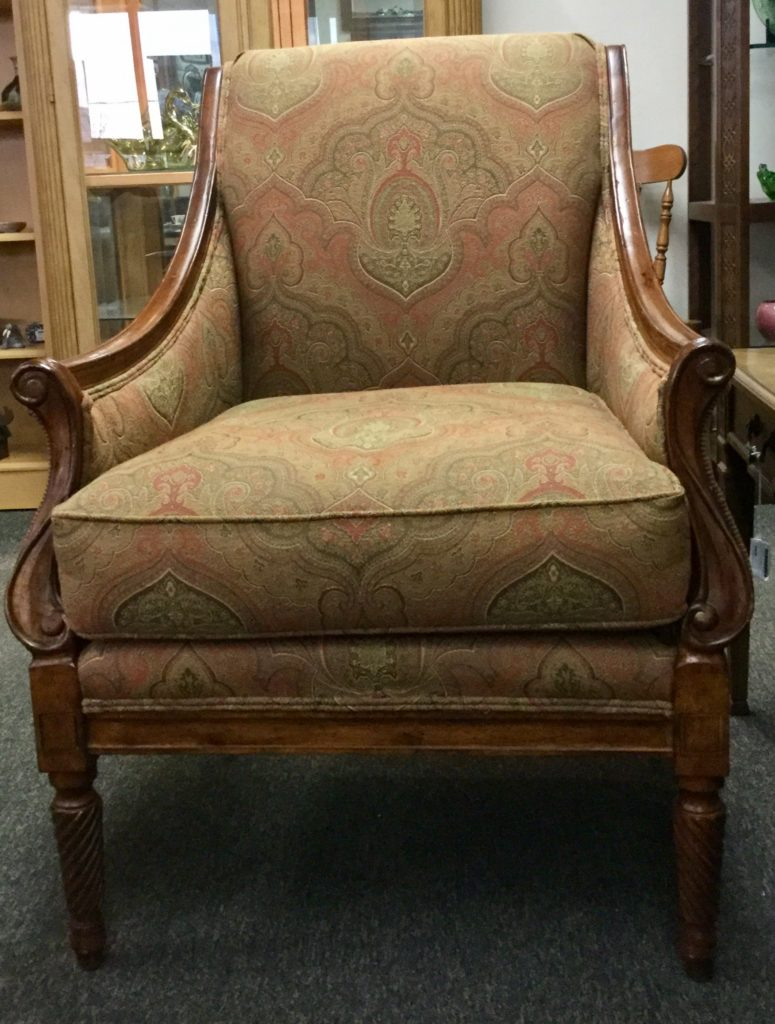 U201cClayton Marcusu201d Arm Chair