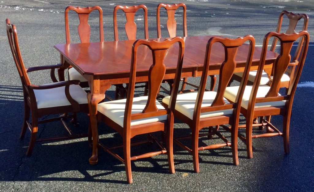 Lexington Dining Table With 8 Chairs - Stock Swap Furniture ...